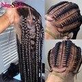 Парики из человеческих волос без клея, на полной сетке, предварительно выщипанные отбеленные парики из узлов, 26 дюймов, 150% бразильские волос...