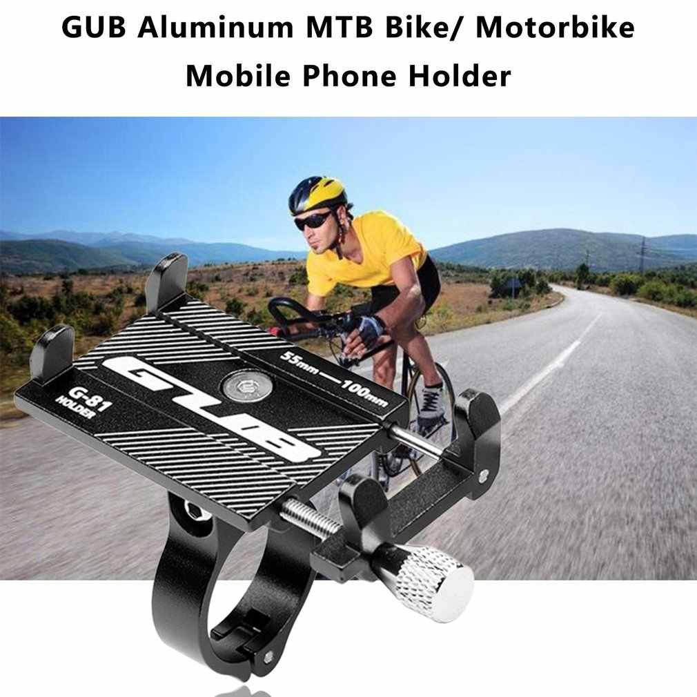 Eon Communication Telepon Pemegang Aluminium MTB Sepeda Universal Mobile Communication Ponsel Dudukan Sepeda Stang Klip Berdiri GPS Mount Bracket HOT