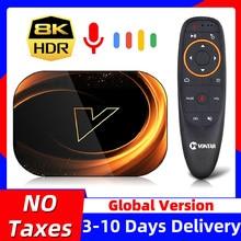 VONTAR X3 8K מקסימום 4GB 128GB טלוויזיה תיבת אנדרואיד 9 9.0 Amlogic S905X3 TVBox 32GB 64GB ROM 1000M הכפול Wifi 4K 60fps Youtube ממיר