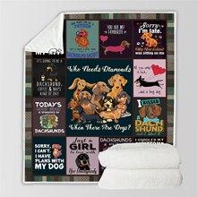 Plstar Cosmos Cute Animal Cartoon Pet dog/cat  Blanket 3D print Sherpa on Bed Home Textiles Dreamlike style-9