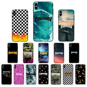 Babaite thrasher Phone Case Cover For iPhone SE2 11 Pro XS MAX XS XR 8 7 6 Plus 5 5S SE Case(China)