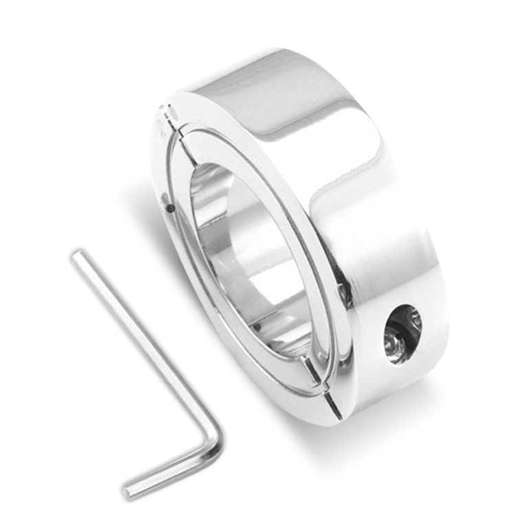 Metal Stainless Steel Testicle Negative Weight Penis Restraints Pendant Cock Ring Assorted Adult Games Cockring Metal