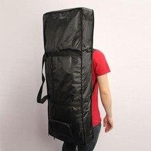 61 Key Keyboard Gig Bag Case Electronic Organ Piano Padded Backpacks Waterproof 600D/420D With 10mm Handbags Cloth Cotton O H3J0