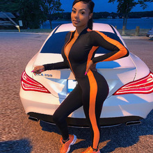 Fitness Jumpsuit Sporty Rompers Womens Jumpsuit 2019 Workout