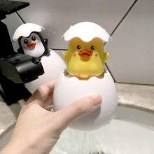 Baby Baden Spielzeug Kinder Nette Ente Pinguin Ei Wasser Spray Sprinkler Badezimmer Beregnung Dusche Schwimmen Wasser Spielzeug