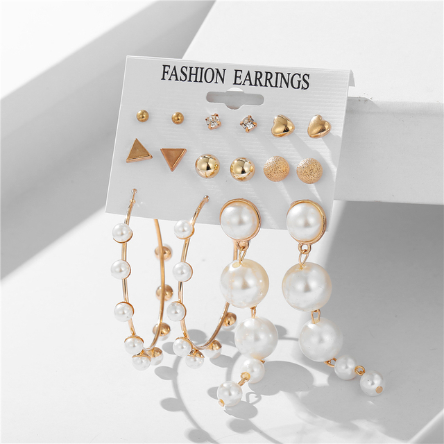 various earring bunches 5