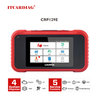 Launch X431 CRP129E CRP123E CRP129 CRP123 Creader VIII OBD2 diagnostic tool for ENG/AT/ABS/SRS OBD Coder Reader free update
