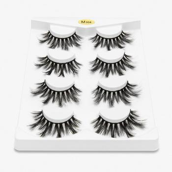 fake eyelash 4 pairs