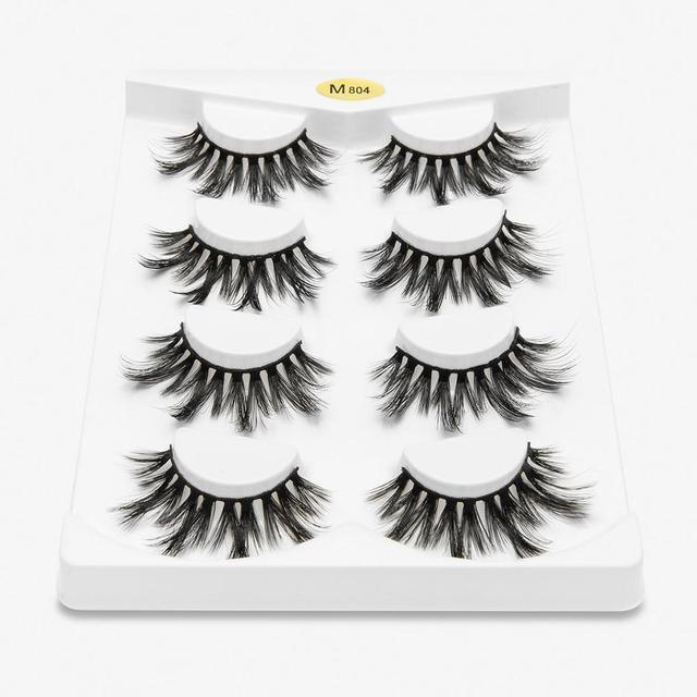 fake eyelash 4 pairs