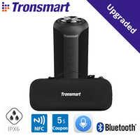 Tronsmart-Altavoz Bluetooth 5,0 T6 edición mejorada, barra de sonido portátil resistente al agua IPX6 con sonido envolvente de 360 °, conexión NFC