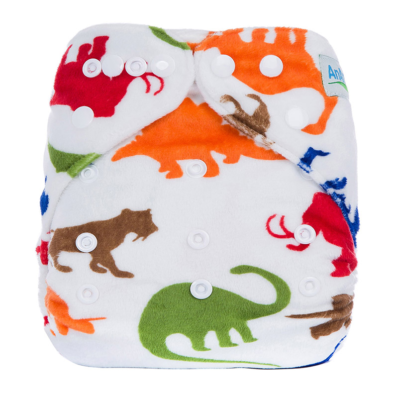 Cotton Baby Cool Cloth Diapers Without Insert Playful Teen Pocket Cloth Baby Diapers Nappy Eco D1