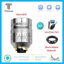 TTArtisan 11mm F2.8 professionnel caméra d'enregistrement objectif plein cadre pour Leica M Sony E Nikon Z monture caméra A7R3 A7S A6300 Z7 Z6