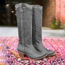 2020 New Hot Women Boots Autumn Winter Ladies Flat Bottom Boots Shoes Over The Knee Thigh High Black Suede Long Boots(China)