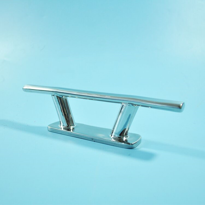 """Marine Oval Tube Cleat Scandinavian Style 316 Stainless Steel for Boat 8/"""" 205mm"""