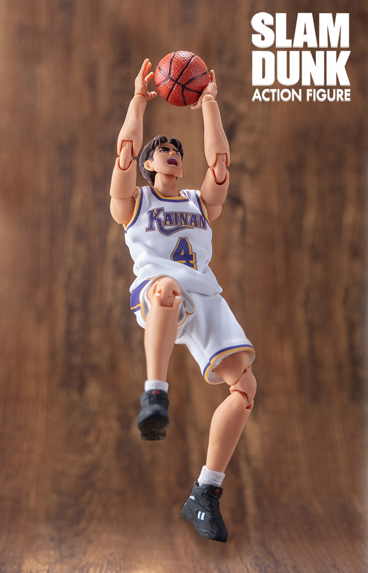 Image 4 - CMT Instock Dasin Model Slam Dunk Basketball Kainan Shinichi Maki  Jin Kiyota TakasagoS.H.F Action Figure Anime PVC Toys FigureAction & Toy Figures   -