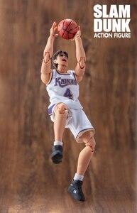 Image 4 - Cmt instock dasin モデル slam dunk バスケットボール海南新一マキジン kiyota takasago s.h.f アクションフィギュアアニメ pvc おもちゃ図