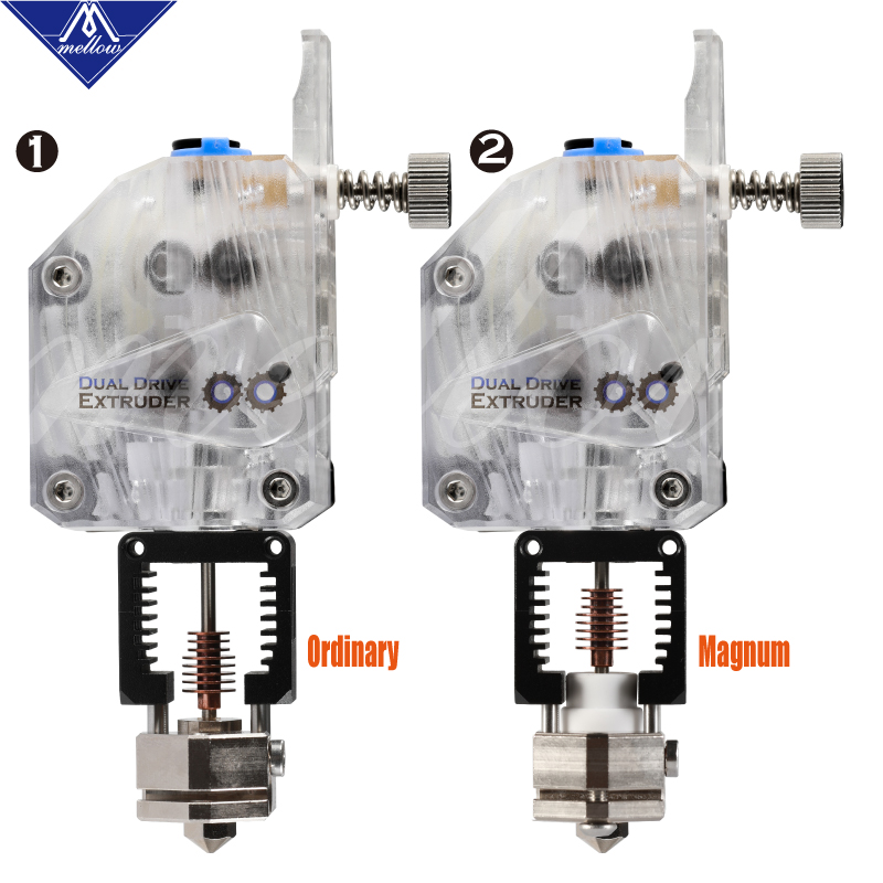Mellow Nf Crazy Hotend With Bmg Extruder Plated Copper V6 Nozzle Kit For 3D Printer Blv Printing 1.75MM Abs Petg Tpu Nylon Peek-in 3D Printer Parts & Accessories from Computer & Office