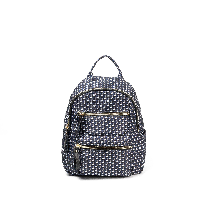 Повседневный Рюкзак, водонепроницаемые нейлоновые двойные ремни, двойная молния, модный Камуфляжный маленький рюкзак для женщин - Цвет: Прозрачный