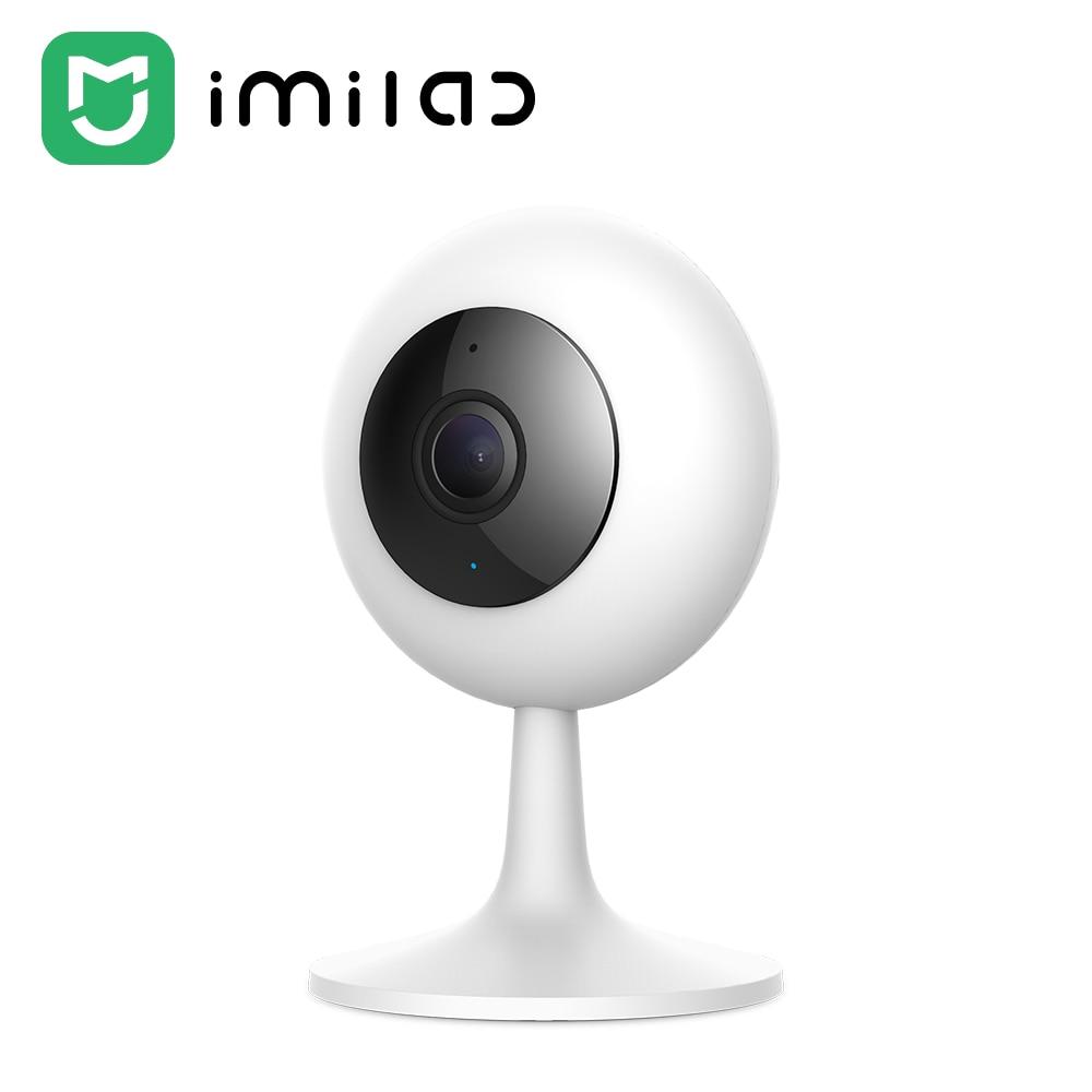 كاميرا Imilab 1080P IP الأمن 017 Mijia واي فاي الأشعة تحت الحمراء للرؤية الليلية الذكية CCTV 120 درجة عدسة واسعة جدا في الوقت الحقيقي محادثة