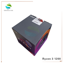 AMD Ryzen R3 1200 โปรเซสเซอร์ CPU Quad Core ซ็อกเก็ต AM4 3.1GHz 10MB TDP 65W Cache 14nm DDR4 เดสก์ท็อป YD1200BBM4KAE พร้อมพัดลมระบายความร้อน