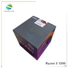 AMD Ryzen R3 1200 מעבד מעבד Quad Core Socket AM4 3.1GHz 10MB TDP 65W מטמון 14nm DDR4 שולחן העבודה YD1200BBM4KAE עם קירור מאוורר