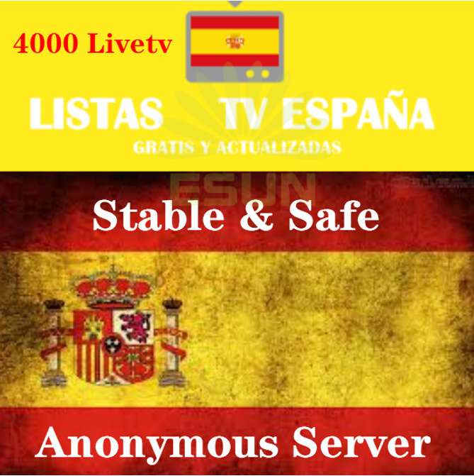 Subscripcion IPTV Spain DAZN Movist  XXX M3U IPTV Code M3u GSE Enigma For Android Box Enigma2 IOS Smart PC Smart TV