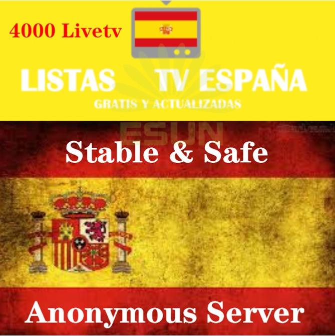 Subscripcion IPTV Spain DAZN Movist  XXX M3U IPTV Code M3u GSE Enigma For Android Box Enigma2 IOS Smart PC Smart TV