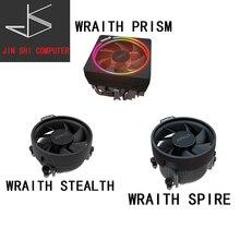 Ventilador enfriador Original de AMD Ryzen wraw nuevo 4 pines puede soportar R3 R5 R7 R9 CPU puede soportar la placa base de enc