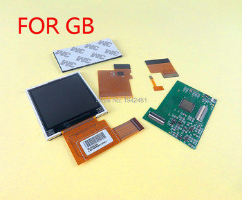 5sets FOR GB New LCD with Screen Kits for Nintend GB backlight lcd screen High Brightness LCD Replacement for GB Console