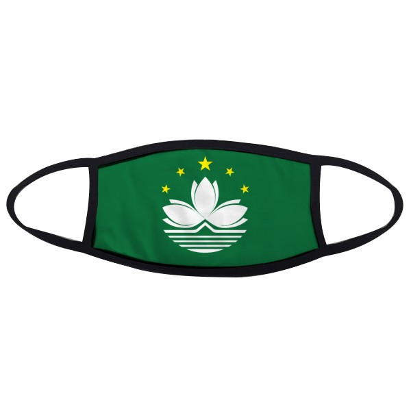 China Macao Regional Flag Mouth Face Anti-dust Mask Anti Cold Warm Washable Cotton Gift