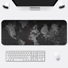 Mapa świata duża podkładka pod mysz akcesoria dla graczy podkładka pod mysz do gier duża podkładka pod mysz duża mysz mata na biurko mysz podkładka pod mysz komputerową cheap CN (pochodzenie) X289