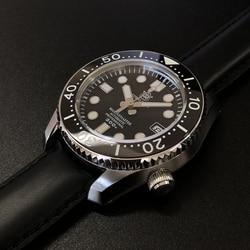 Steeldive 1968 Japan Eerste All-In-One Case Zonder Bottom Cover Duikhorloge 300 M Automatische Horloge Saffier 316L Staal Horloges Mannen