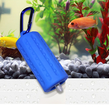 USB Air Bubble Aerator Pond Pump Hydroponic Oxygen Aquarium Fish Tank Cable 1m