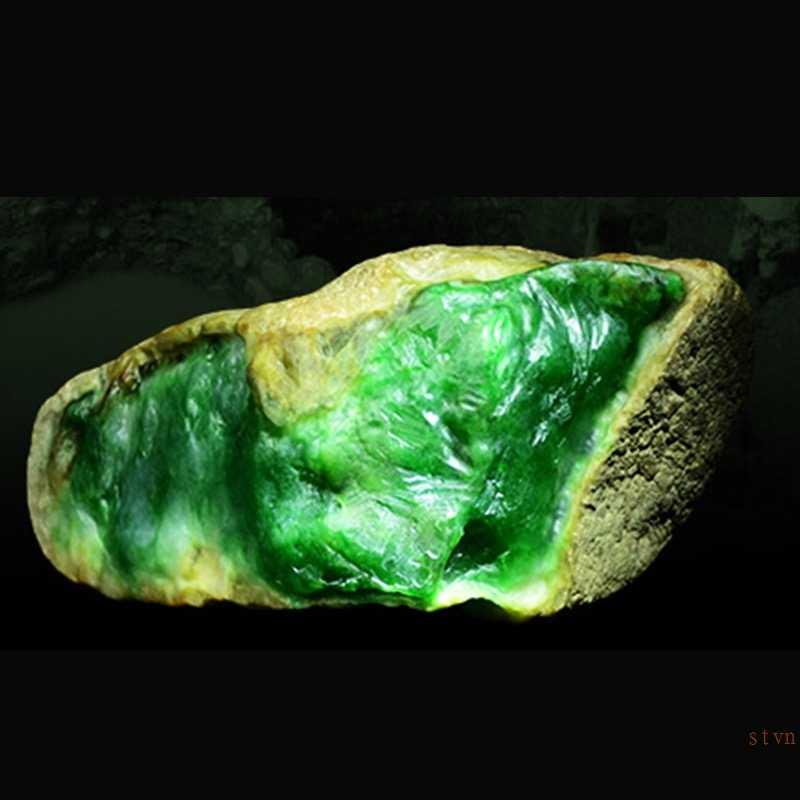 ไม่ปลอม S925 Fine Antique Shop แหวน 925 เงินสเตอร์ลิงผู้หญิง Handmade Emerald moldavite Peridot Alexandrite Lotus หยก