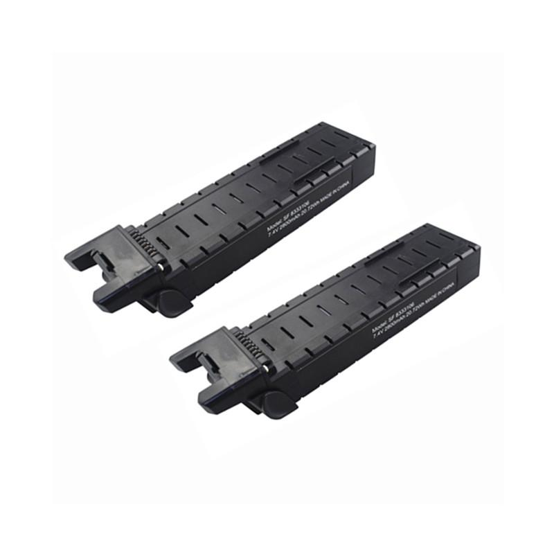 2pcs <font><b>7.4v</b></font> <font><b>2800mah</b></font> Lithium <font><b>Battery</b></font> For Mjx Bugs 3pro B3 Pro D85 Ex2h Brushless Four-axis Aircraft Accessories image