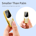 Мини-бар мобильный телефон J7 0,66 дюйма, маленький сотовый телефон, беспроводной Bluetooth-номеронабиратель, FM, волшебный голос, гарнитура для дет...