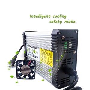Image 3 - YZPOWER 100.8 فولت 4A شاحن بطارية ليثيوم مناسبة ل 88.8 فولت 24S بطارية ليثيوم حزمة الألومنيوم الإسكان والمكونات الاختيارية