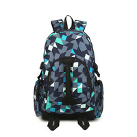 Backpack Men And Women Korean style Fashion College Style Casual Backpack Middle School Students School Bag Travel Large Bag a G