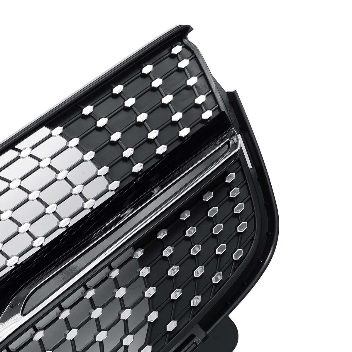 Gril de calandre avant de voiture X164 Diamond Grill pour Mercedes ForBenz X164 GL320 GL450 GL350 2007-2012 grilles de course - 6