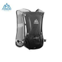 AONIJIE 5L Hydration Vest Pack Lightweight Running Backpack Outdoor Sports Trail Racing Marathon Hiking Fitness Bag
