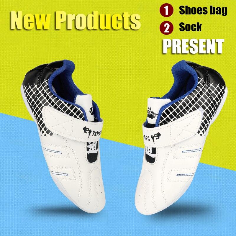 Обувь для тхэквондо 26-45 дышащая китайская обувь wushu кунг-фу для женщин и мужчин для занятий боевыми искусствами таичи борцовские кроссовки о...