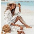 Women Lace Crochet S...