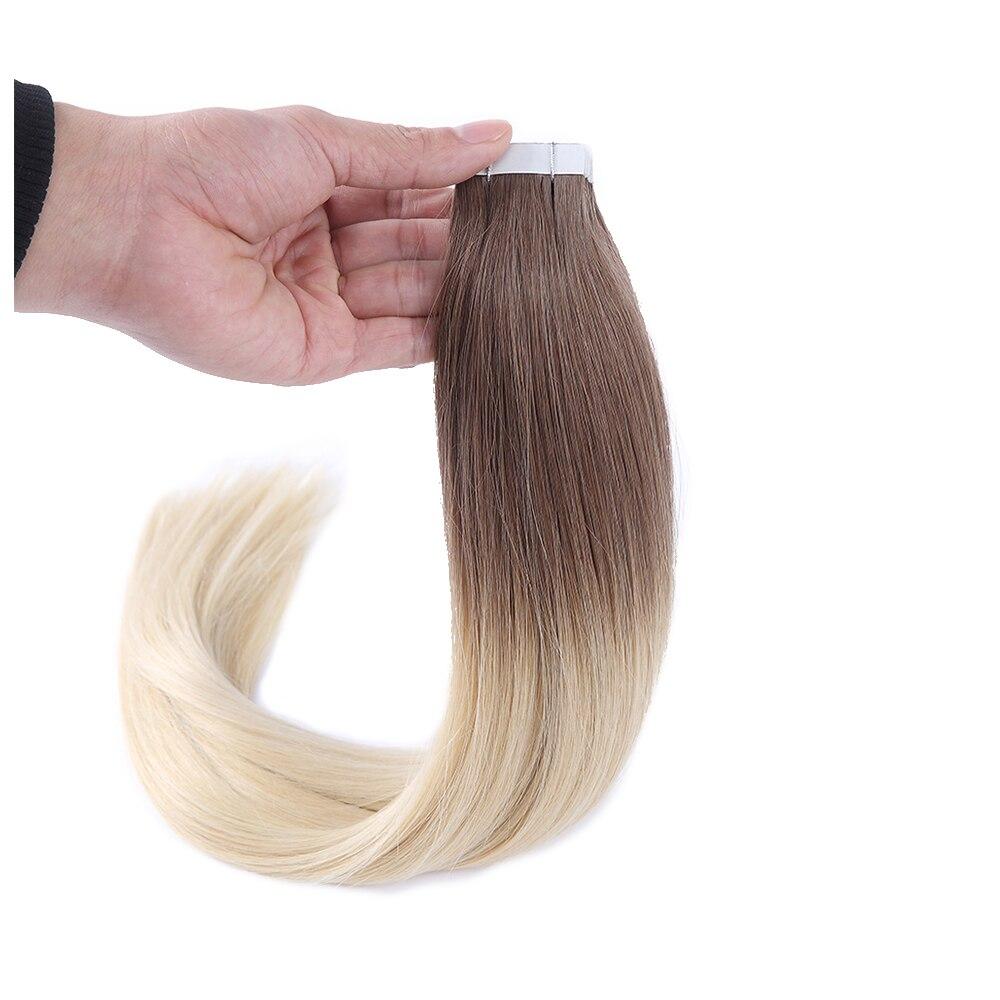cabelo humano remy em linha reta em