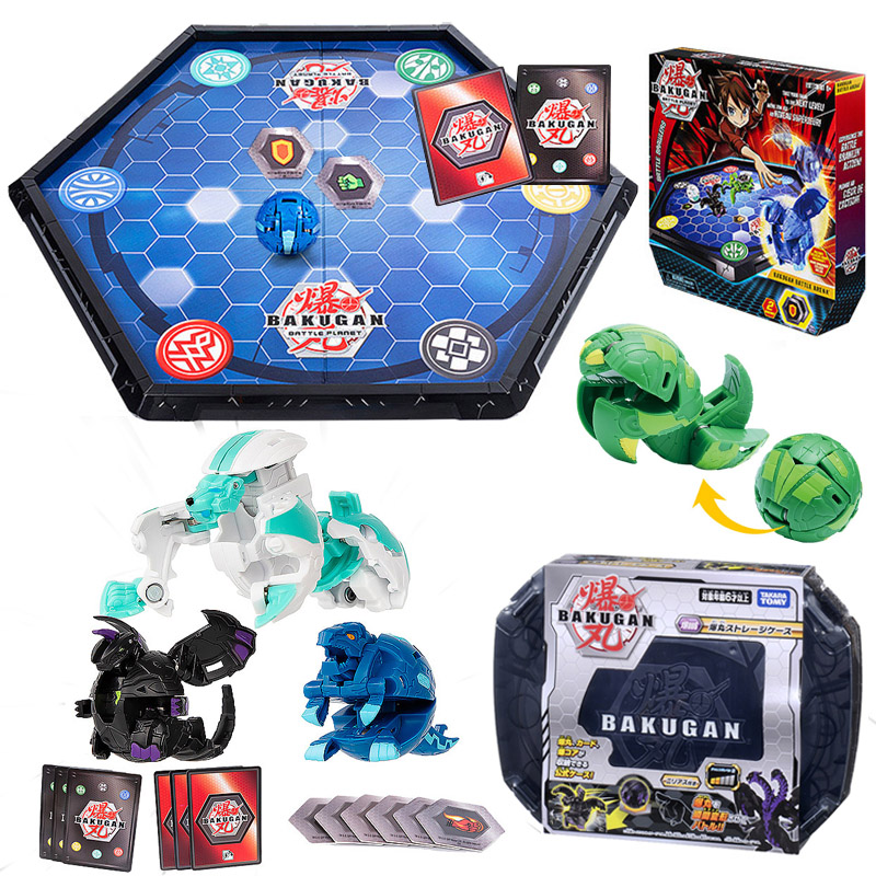 Original Bakugan Toys Takara Tomy Toy Battle Planet Deformation Gyro Toupie Ball Duel Brawlers Spinning Top Boy Gifts