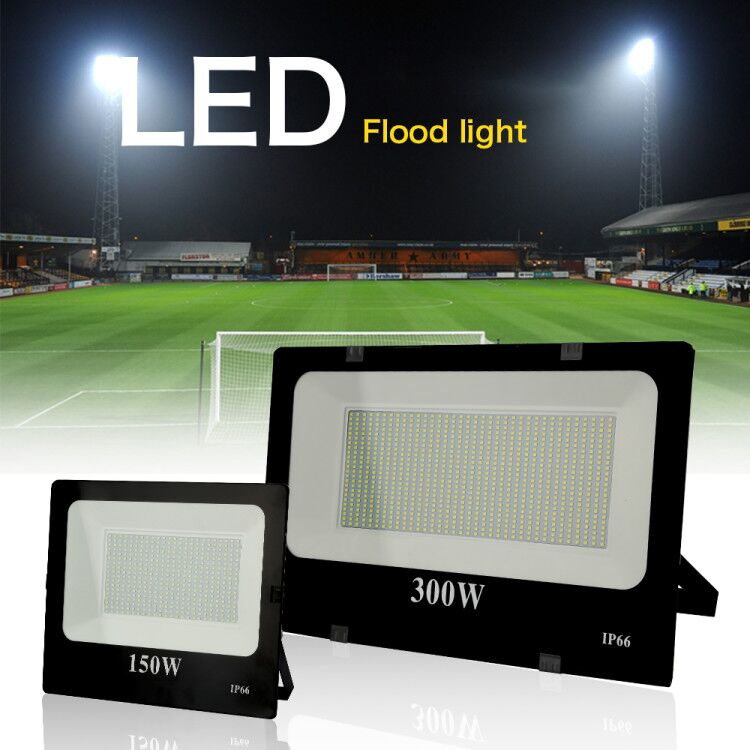 AC175-260V FloodLight Outdoor Lighting Projector <font><b>Reflector</b></font> Exterior wall waterproof Garden Square <font><b>LED</b></font> Spot <font><b>10W</b></font>-400W Flood light image