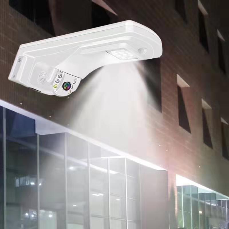 2mp 1080 p sem fio ptz câmera ip lâmpada de detecção movimento pátio brilho luz alarme câmera vigilância
