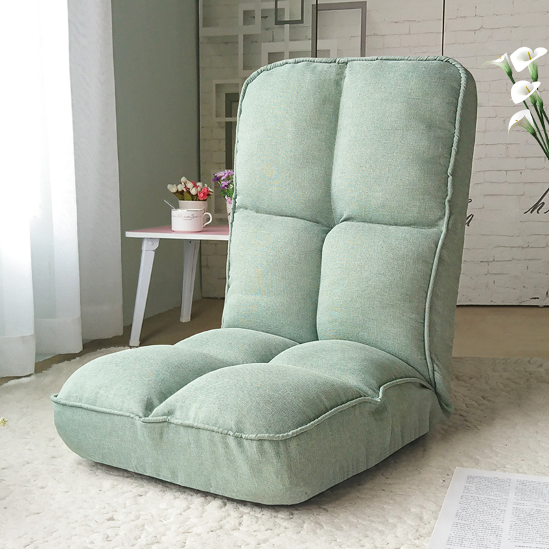 Lazy Tatami Sofa Single Recreational Foldable Bed Dormitory Computer Bedroom Balcony Floating Window Backrest Chair