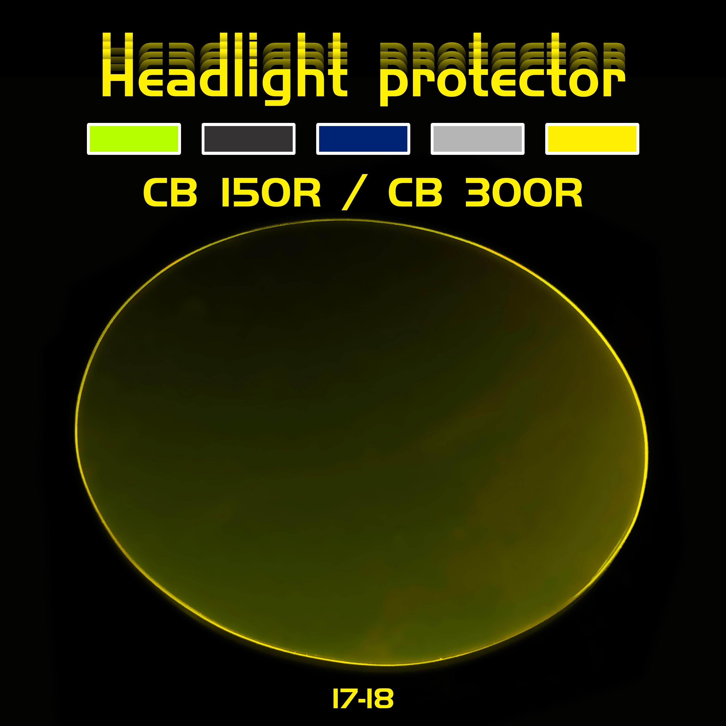 Shield Screen Lens Headlight Protector Cover for CB125R CB150R CB250R CB300R