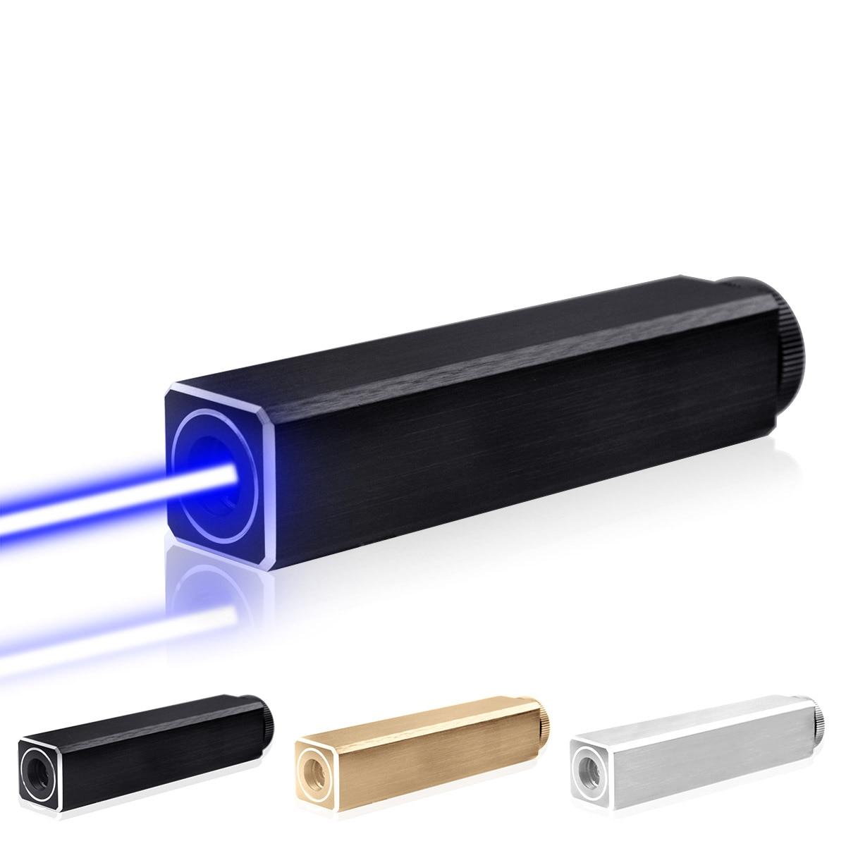 CWLASER 532nm vert/450nm bleu/405nm violet/650nm rouge pointeur Laser de forme carrée (3 couleurs) - 2