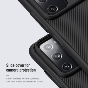 Image 4 - NILLKIN Slide Camera Lens Protection Cases For Samsung S20 FE S21 Ultra Plus Note 20 Ultra A51 A71 M31S M51 Slide Protect Cover